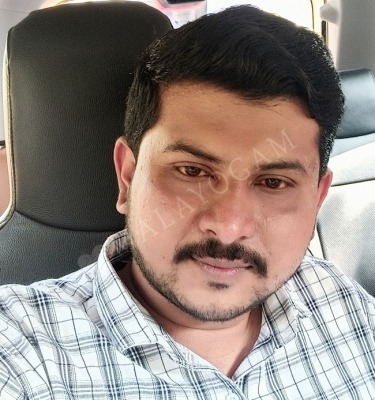 Rajin, a groom from Bangalore