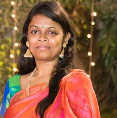 Remya, a bride from Delhi