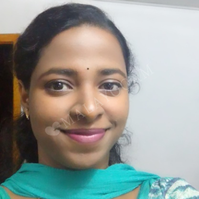 Liya, a bride from Bangalore