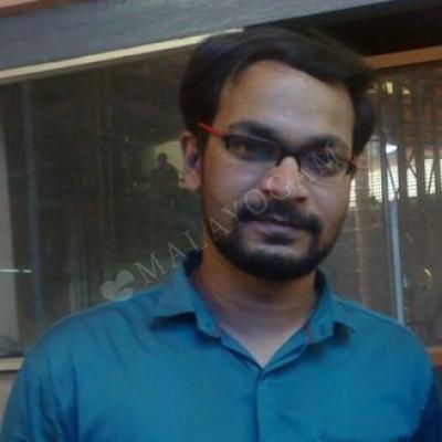 Saneesh, a groom from Calicut