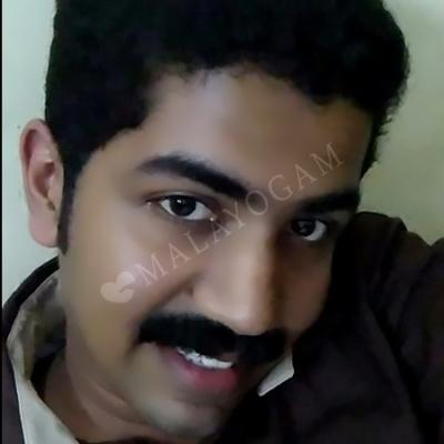Sanal, a groom from Palakkad