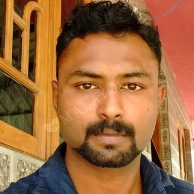 Praveen, a groom from Palakkad