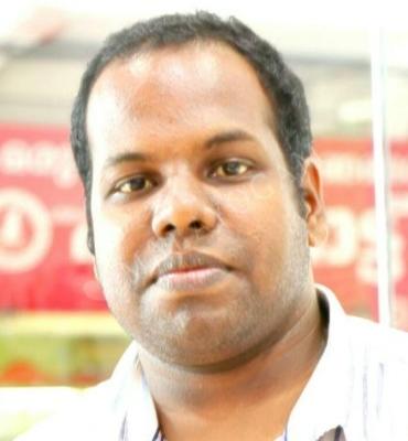 Sreenath, a groom from India