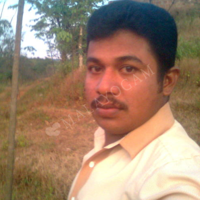Deepu, a groom from Bangalore