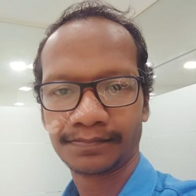 Binesh, a groom from Alappuzha