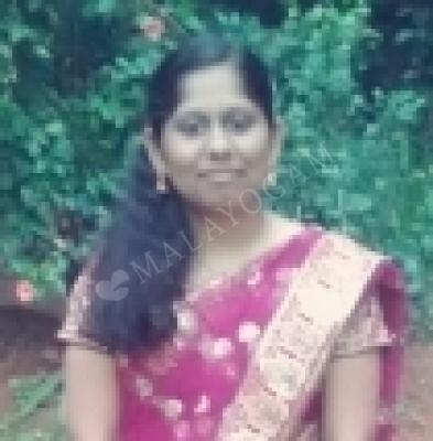 Nijitha, a groom from India