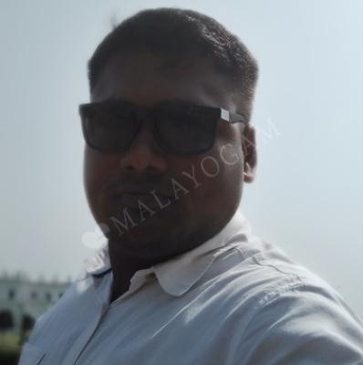 Prajith, a groom from Malappuram