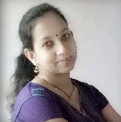 Sreeja, a bride from Mumbai