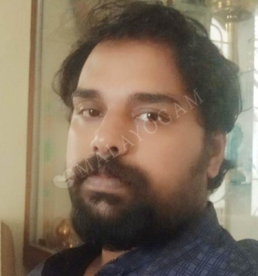 Naveen, a groom from Bangalore