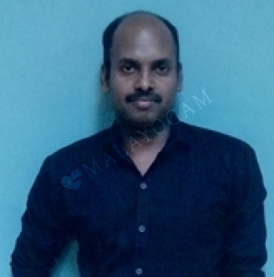 Ratheesh, a groom from Bangalore