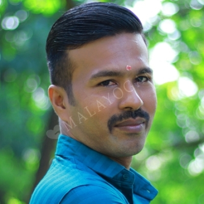 Sajesh, a groom from Palakkad