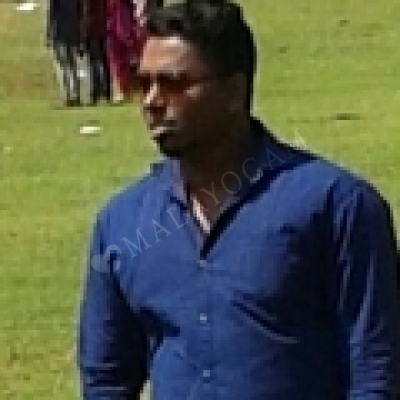 Jithin, a groom from India